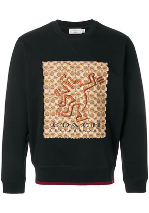 Coach Coach X Keith Haring sweatshirt - Black
