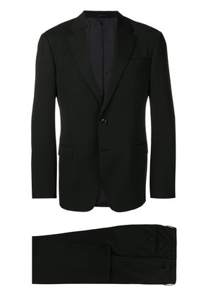 Giorgio Armani two piece fitted suit - Black