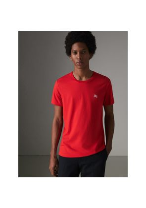 Burberry Cotton Jersey T-shirt, Size: M, Red