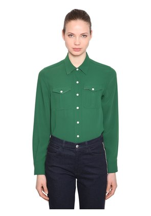 TWILL SHIRT WITH POCKETS