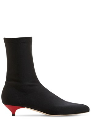 40MM STRETCH KNIT SOCK ANKLE BOOTS