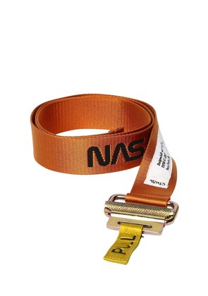 NASA JACQUARD TAPE WEBBING BELT