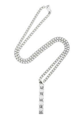 GUCCIGHOST CHAIN NECKLACE
