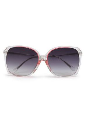 Matthew Williamson Woman Oversized Square-frame Acetate Sunglasses Pink Size -