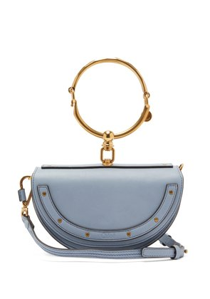 Nile Minaudière small leather cross-body bag