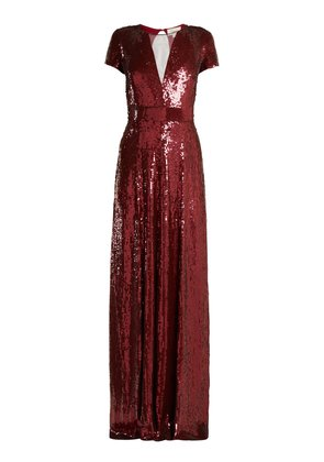 Ray sequinned gown