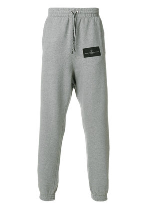 Golden Goose Deluxe Brand logo patch track trousers - Grey