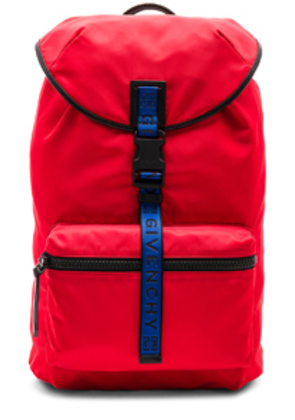 Givenchy Light 3 Backpack in Red