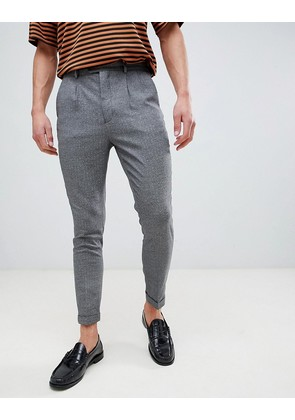 New Look Tapered Trouser In Grey - Mid grey
