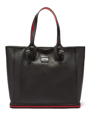 Kabiker leather tote bag