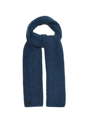 Colin ribbed-knit cashmere scarf