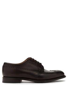Thickwood leather brogues