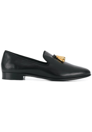 Giuseppe Zanotti Design Spacey spike tassel loafers - Black