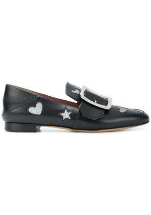 Bally Janelle hearts loafers - Black