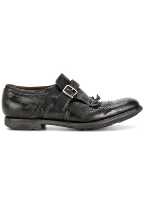 Church's buckle strap brogues - Brown