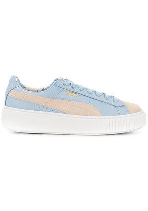 Puma platform sole sneakers - Blue