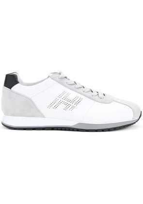 Hogan lace-up low top sneakers - White