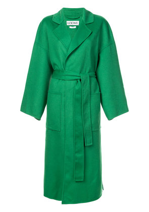 Loewe oversized tailored coat - Green