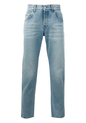 Gucci loved embroidered jeans - Blue