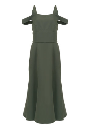 Olympiah Sol midi dress - Green