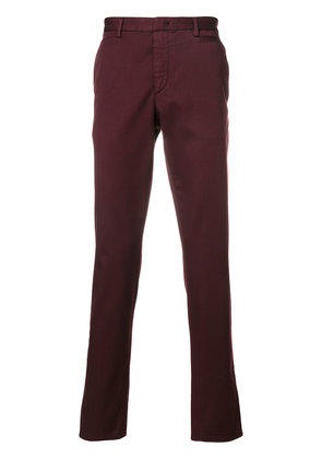 Prada slim fit chinos - Red
