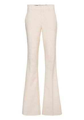 Gucci mid rise flared trousers - Nude & Neutrals