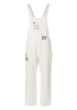 Mira Mikati patch jumpsuit - Nude & Neutrals