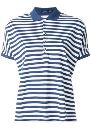 Polo Ralph Lauren poncho-inspired polo shirt - Blue