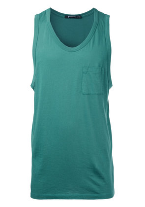T By Alexander Wang v-neck tank top - Green