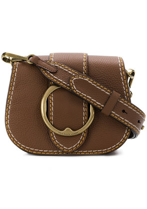 Polo Ralph Lauren buckled saddle bag - Brown