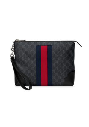 Gucci GG Supreme men's bag - Black