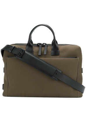 Troubadour Slim briefcase - Green