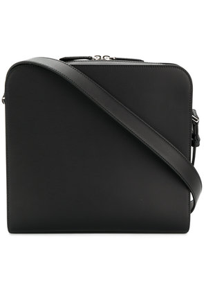Fendi classic mini messenger bag - Black