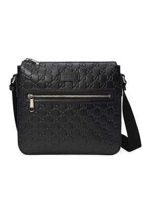 Gucci Gucci Signature messenger bag - Black