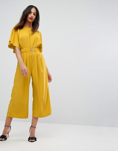 4f34d8e2f25 ASOS Tea Jumpsuit with Elasticated Belt
