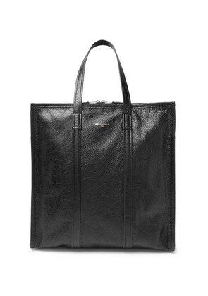Bazar Arena Creased-leather Tote Bag
