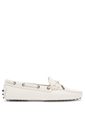 Gommini lace-up leather driving loafers
