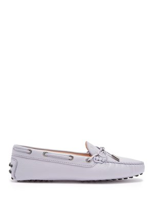 Gommini lace-up leather loafers