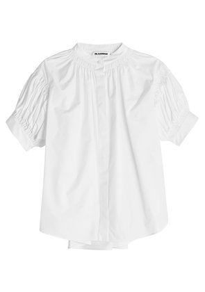 Jil Sander Elaide Cotton Blouse