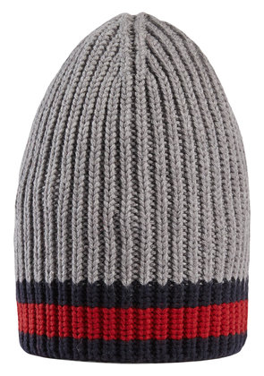 Gucci Wool hat with Web - Grey