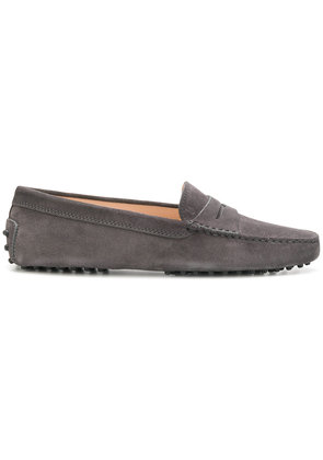 Tod's slip-on loafers - Grey