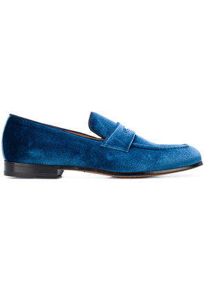 Steve's classic penny loafers - Blue
