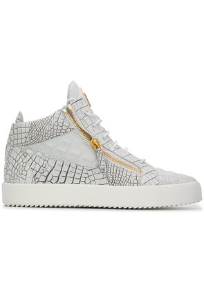 Giuseppe Zanotti Design Kriss high top sneakers - White