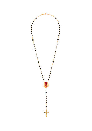 Dolce & Gabbana rosario necklace - Black