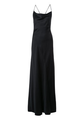 Dvf Diane Von Furstenberg backless gown - Black