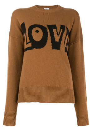 P.A.R.O.S.H. Lovingly sweater - Brown