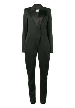 Saint Laurent tuxedo jumpsuit - Black