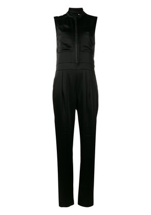 Burberry zip-front jumpsuit - Black