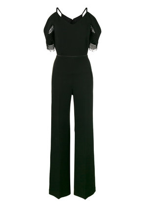Roland Mouret Black Cold Shoulder Jumpsuit