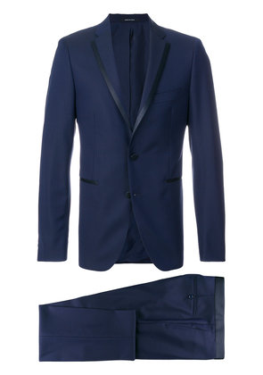 Tagliatore two piece dinner suit - Blue